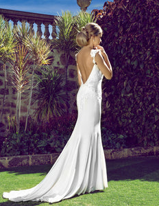 Sabina wedding dress bridal gown Perth B2