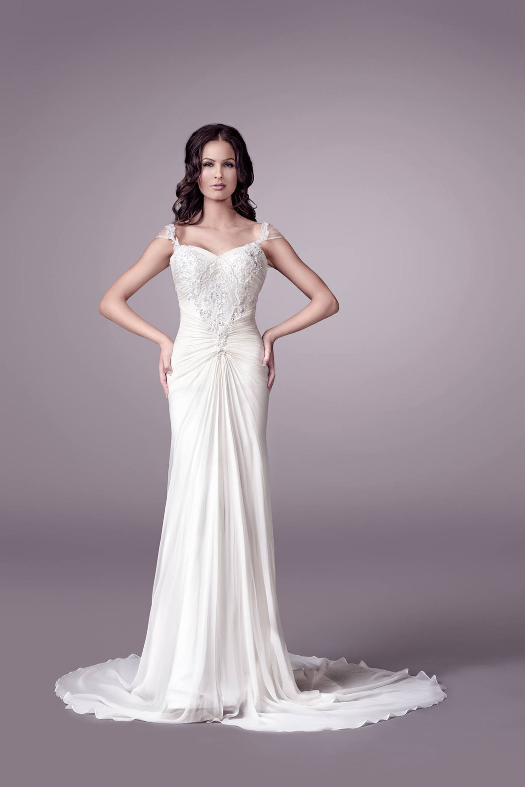 Valeria wedding dress bridal gown Perth F