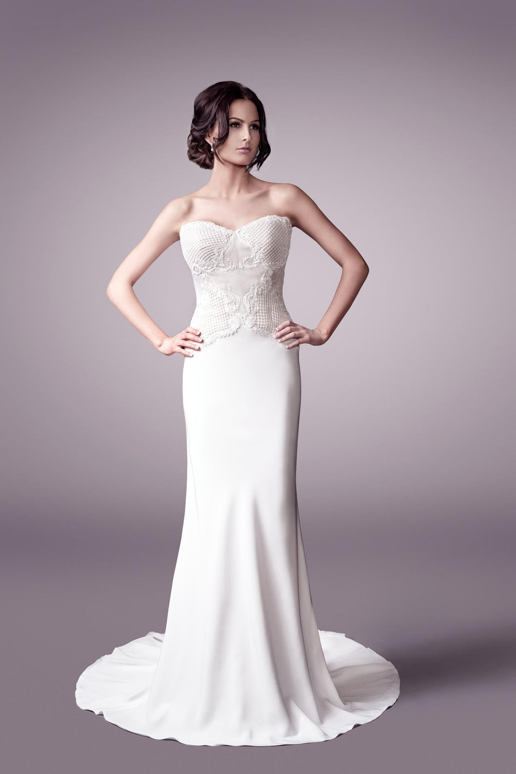 Verity wedding dress bridal gown Perth 9320 F