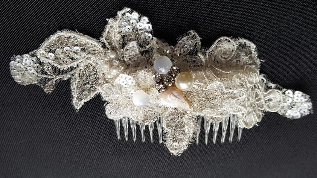 Jasper Bridal Headpiece