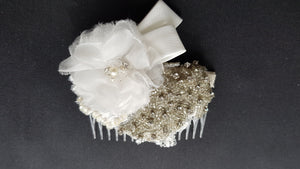 Spinel Bridal Headpiece
