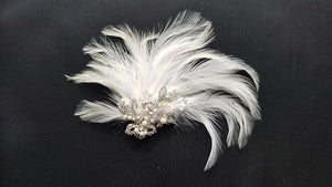 Albite Bridal Headpiece