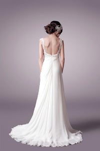 Adriana wedding dress bridal gown Perth 9302(B)