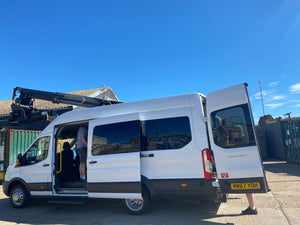 8 Seater Accessible minibus - silver