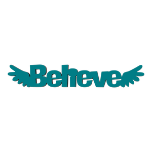Tiny Word Magnet-Believe