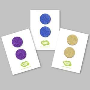 Glitter Dot Magnet Set, Large
