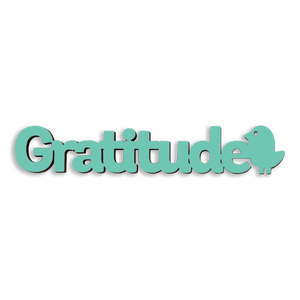 Tiny Word Magnet-Gratitude