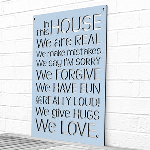 In this House (House Rules)