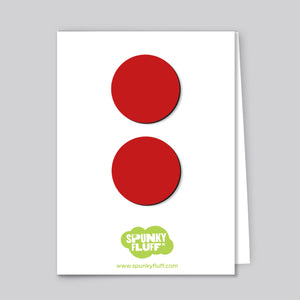 Painted Dot Magnets, Large