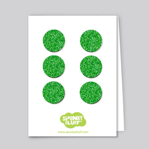 Glitter Dot Magnet Set, Small