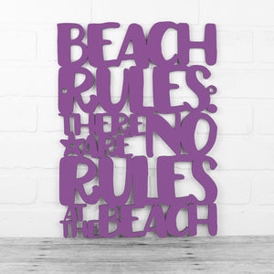 Beach Rules: There Are No Rules At The Beach