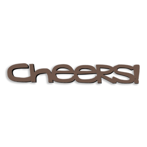 Cheers-Tiny Word Magnet