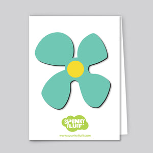 Painted Flower Magnet