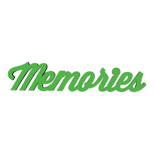 Memories-Tiny Word Magnet