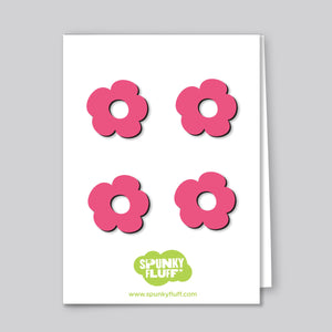 Painted Mini-Flower Magnets