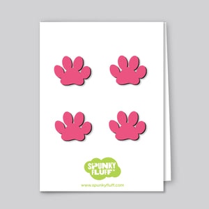 Painted Mini-Paw Magnets