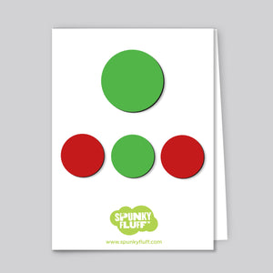 Painted Dot Magnets, Mixed