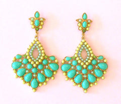 Chandelier Earrings Jade