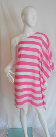 Santa Cruz Mini Pink & White Stripe