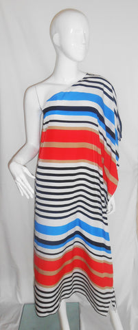 Santa Cruz Maxi Black Multi Stripe
