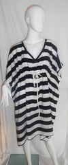 Antigua Black & White Stripe