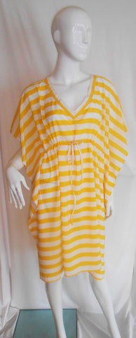 Antigua Yellow & White Stripe