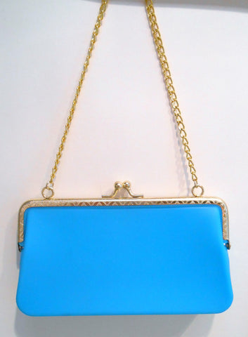 Bright Clutch Turquoise