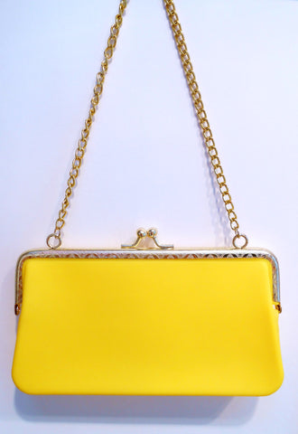 Bright Clutch Yellow