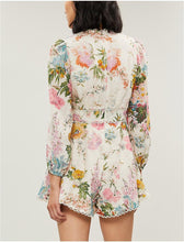 Load image into Gallery viewer, Zimmermann Heathers Linen Playsuit