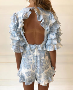 Thurley Gia Ruffle Playsuit