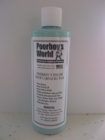 Poorboys World Polish with Carnauba (Blue)