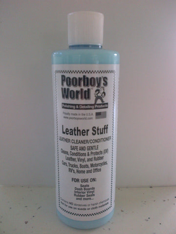 Poorboys World Leather Stuff