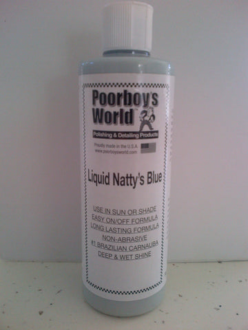 Poorboys World Liquid Natty's Blue