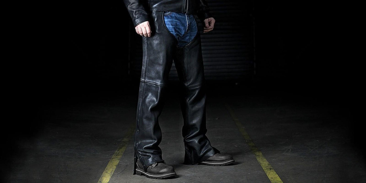 Leather Chaps| Zara Leather - Designer Fashion and Motorcycle Apparel