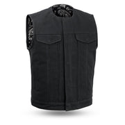 Fairfax V2 - Men's Motorcycle Canvas Vest