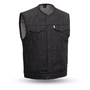 Ben - Men's Motorcycle Denim Vest