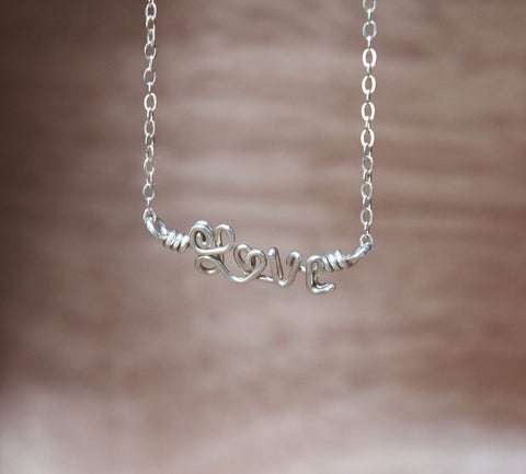 Sterling Silver Name Necklace
