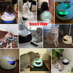 Pet Water Fountain, Cat Fountain Continous Cat Drinking Fountain
