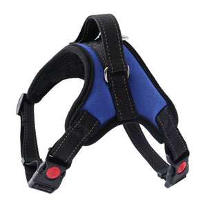 Doggy Harness with Nylon Reflective Stitching Collar Vest