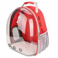 Load image into Gallery viewer, Clear View Pet Carrier Back Pack for Cats and small size Pups