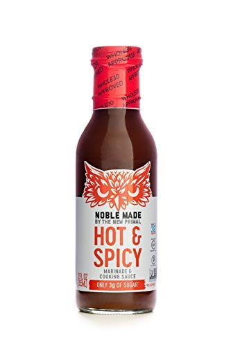 The New Primal, Marinade And Cooking Sauce Spicy, 12 Fl Oz