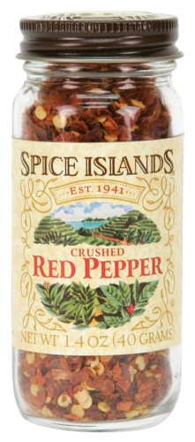 Spice Islands Pepper, Red Crushed, 1.4 Ounce