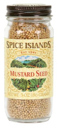 Spice Island, Mustard Seed Whole, 3 OZ