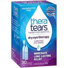 Load image into Gallery viewer, TheraTears Eye Drops for Dry Eyes, Dry Eye Therapy Lubricant Eyedrops