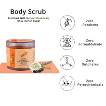 Load image into Gallery viewer, Taashi Natural Rosemary & Shea Butter Sugar Body Scrub - 100 g, 100% Natural Scrub, Exfoliator, Moisturizer, Removes Dead Skin, Nourishes Skin, For Oily Skin, Sensitive Skin, Dry Skin, For Women & Men