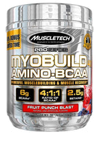 Load image into Gallery viewer, MuscleTech Myobuild BCAA Amino Acids Supplement