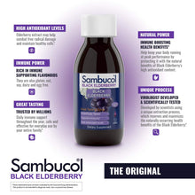 Load image into Gallery viewer, Sambucol Black Elderberry Syrup Original Formula,  7.8 Ounce Bottle