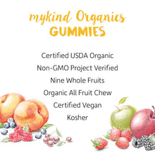 Load image into Gallery viewer, Garden of Life - mykind Organics Women's Gummy Vitamins - Berry - Certified Organic, Non-GMO, Vegan, Kosher Complete Multi - Methyl B12, C & D3 - Gluten, Soy & Dairy Free - 120 Real Fruit Gummies