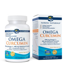 Load image into Gallery viewer, Nordic Naturals Omega Curcumin - Cellular Level Protection, Antioxidant and Anti-Inflammatory, 60 Count