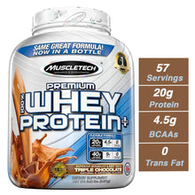 Load image into Gallery viewer, MuscleTech Premium 100% Whey Protein, Chocolate (5 lbs.)